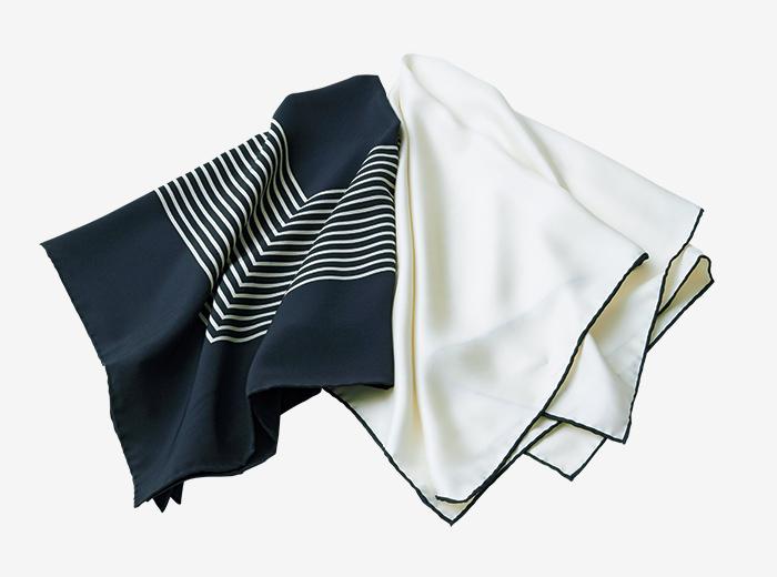 JOHN  SMEDLEY silk scarf