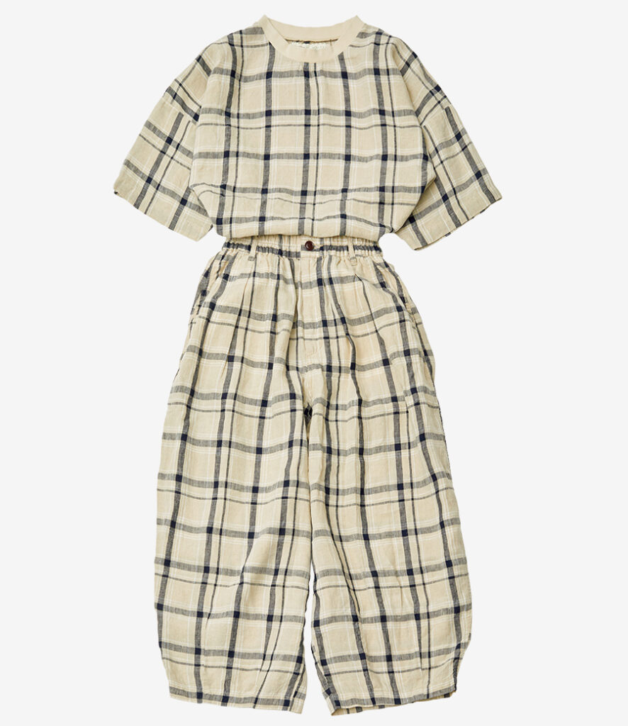 HARVESTY linen pullover and pants