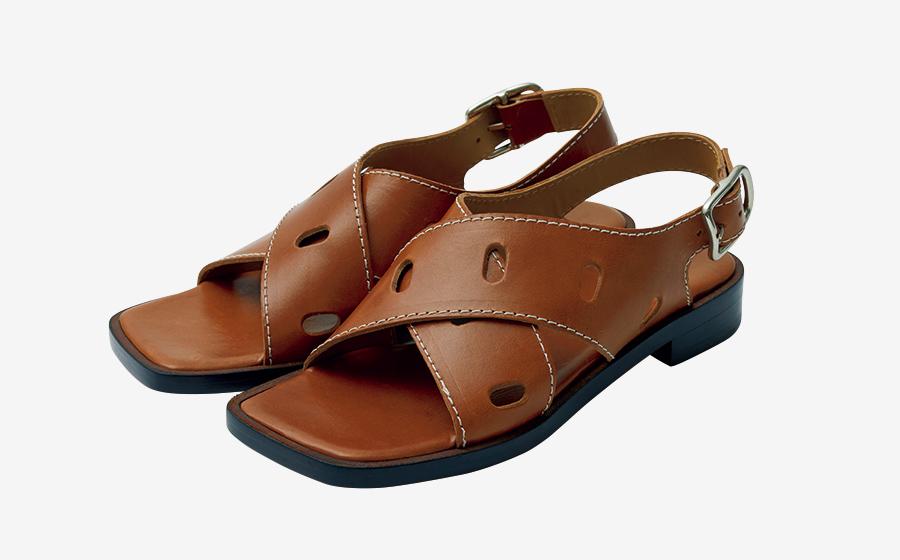 J&M DAVIDSON flat sandals