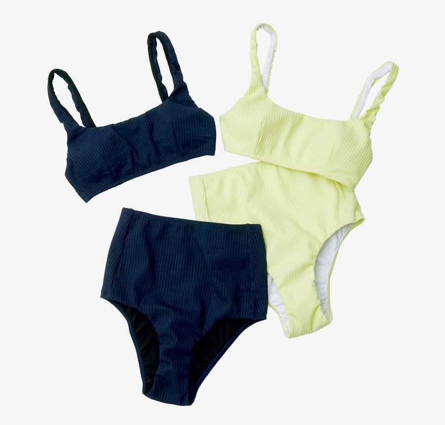 OCEAN PACIFIC × CHIHARU DODO collaborated swimwear