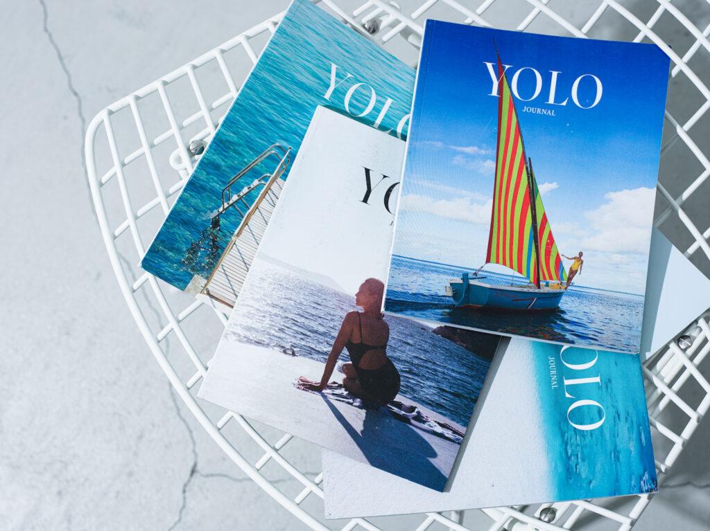 """これまで発売された「2019 summer」「2019 fall」「2019-2020 winter/spring」「2020 summer」「2020 fall/winter」の 5 冊。店頭では、""""Issue6""""として新たに発行された「2021 spring」の販売も。 各¥2,860"""