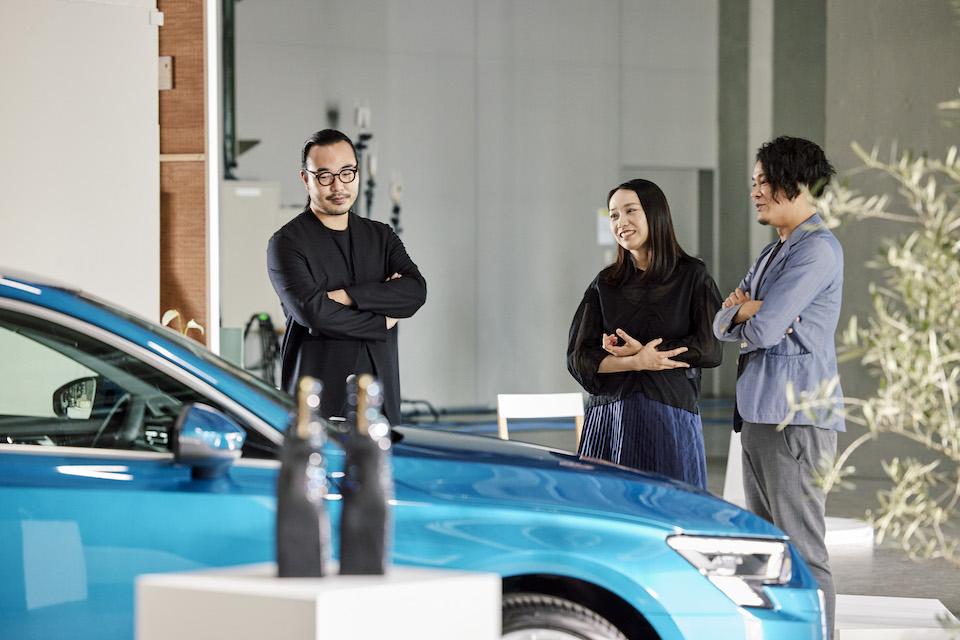 ファッションをアートに昇華したさまざまな作品を手がける館鼻さん。アーティストとしての独自の目線から、新型Audi A3のデザインを紐解く。