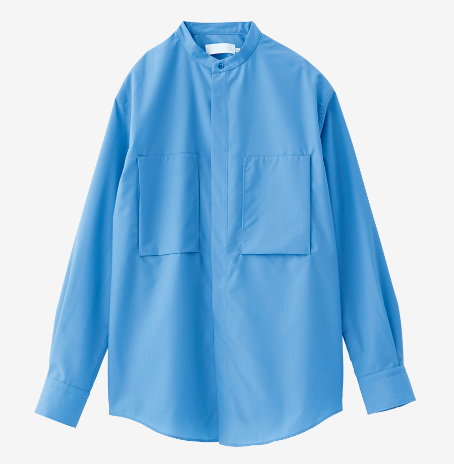 GRAPHPAPER shirt made of fine wool