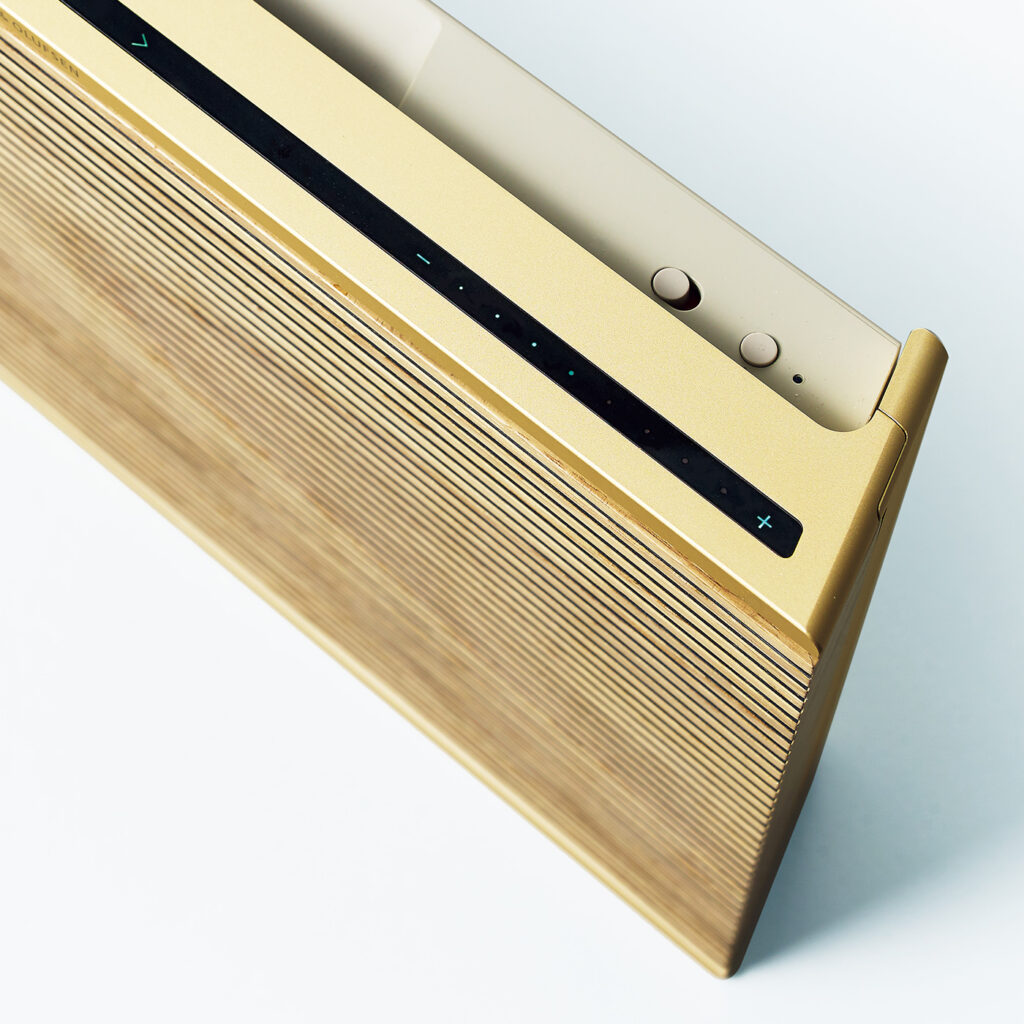 Beosound Level Gold Tone _ Bang & Olufsen