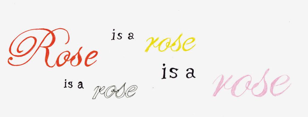 rose ペーパーフラワー 小林エリカ 文房具