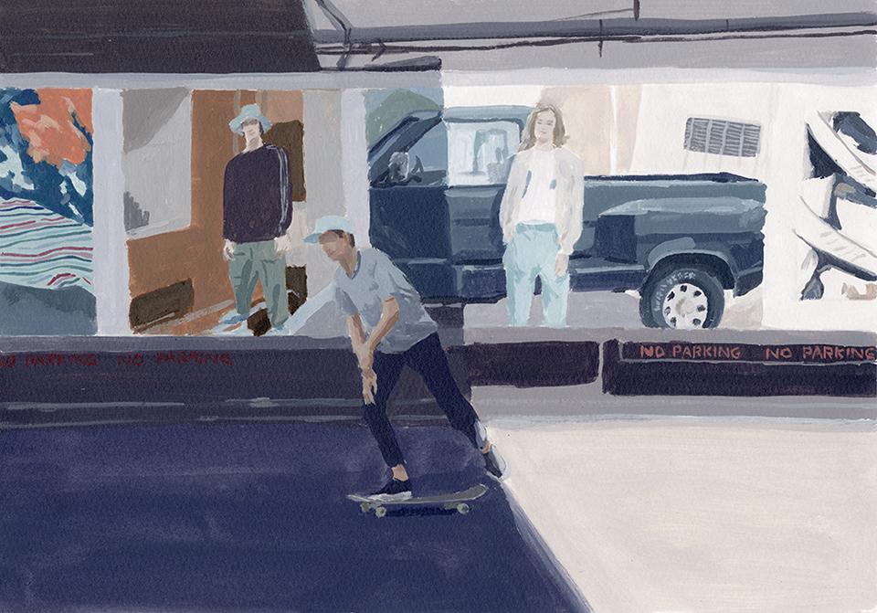 23 skateboard