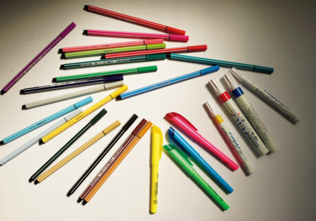 小林エリカ 文房具トラベラー 10   色ペン