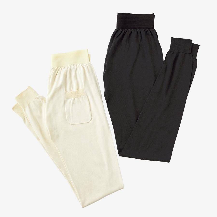 WRAY silk knit pants