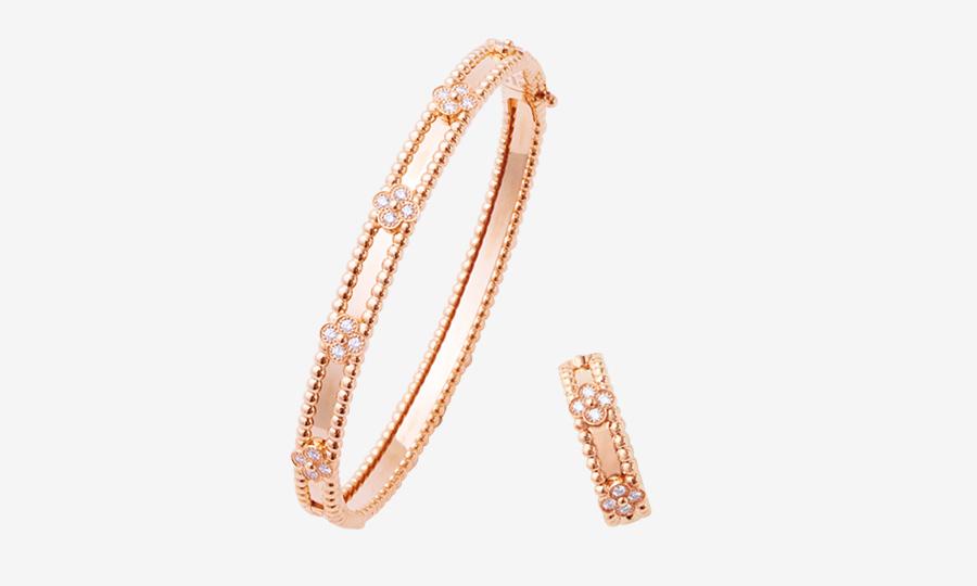 VAN CLEEF & ARPELS bracelet & ring