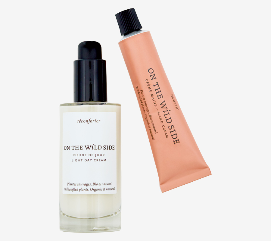 ON THE  WILD SIDE organic  cosmetic