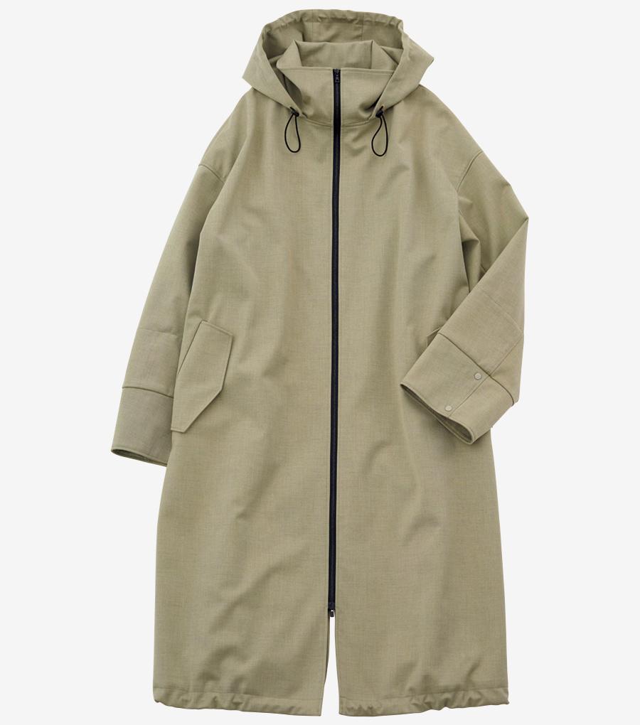 ELE STOLYOF hooded coat