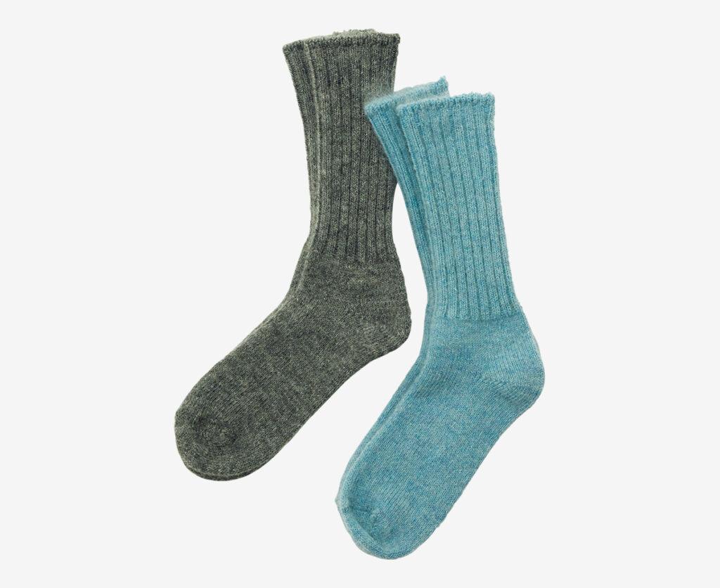 FOG LINEN WORK mohair socks