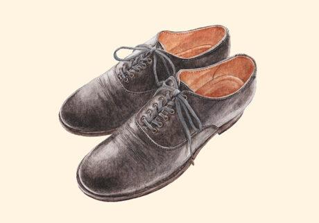 Blucher plain toe